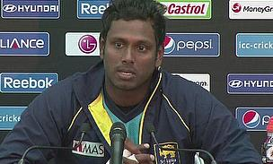 Perera Replaces Injured Mathews For Rest Of ODI Series