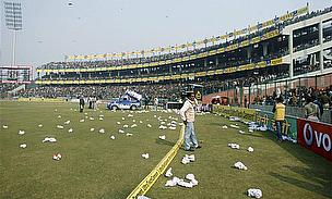 ICC Receives Feroz Shah Kotla Pitch Report From BCCI