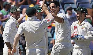 Australia Close Penultimate Day Five Wickets From Win