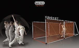 New Cricket Practice Net System From Quad-Netz