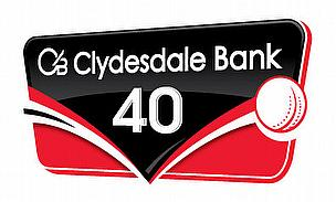 Glamorgan Enter Clydesdale Bank 40 A Point Down