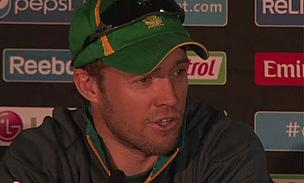 AB De Villiers Takes The Gloves For South Africa