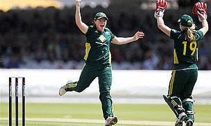 Lanning Leads Australia To Crushing Victory