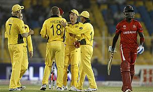 Australia Begin World Cup Defence In Fine Style