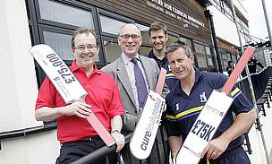 Warwickshire CCC Stumps Up to Save Lives