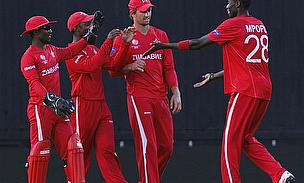 Zimbabwe Clinch Series With Thrilling Five-Run Win