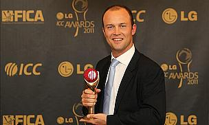 Trott Wins ICC Cricketer Of The Year Award
