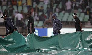 England And South Africa Denied By Rain