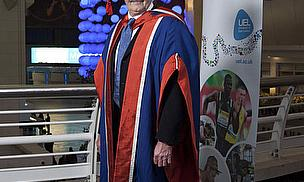 Graham Gooch Bowled Over By UEL Honorary Degree