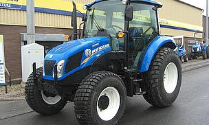New Holland Launches New T4 PowerStar At BTME