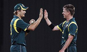 Australia Hit Back With 110-Run Win Over India
