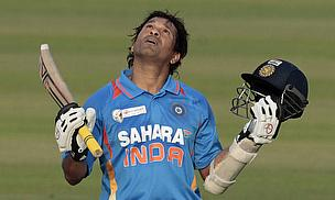 Sachin TON-Dulkar makes history