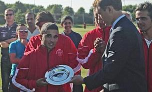 Ahmed Steers Denmark To Tournament Victory