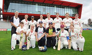 Women Cricketers Net Training Session With Lancashire Stars