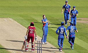 England Women Ease To Victory