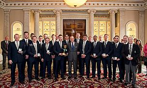 Royal Approval For Champions At Buckingham Palace
