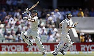 Clarke, Warner And Hussey Make History On Opening Day