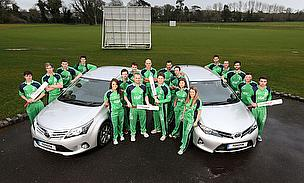 Ireland Clinch Sponsorship Deal With Toyota