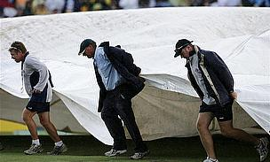 No Break In The Weather As Wellington Test Drawn