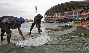 Monsoon Rains Wash Out Second ODI