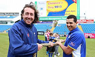 Yorkshire County Cricket Club and Leeds Rhinos pull together for Children's Day 2013