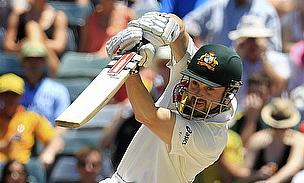 Ed Cowan drives.