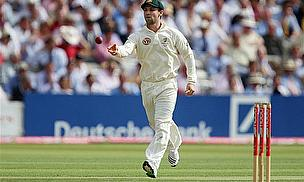 Philip Hughes fields for Australia