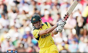 James Faulkner plays a shot