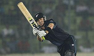 Nathan McCullum plays on the leg-side