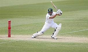 Alviro Petersen plays a shot