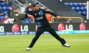 Ross Taylor fields the ball