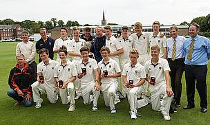 The victorious Cranleigh team are the first from Surrey to win the Lord's Taverners Trophy