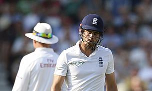 Alastair Cook departs