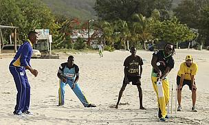 A shot from the launch of the 2014 Caribbean Premier League
