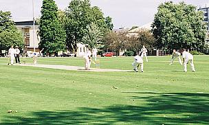 Club cricket in play in England