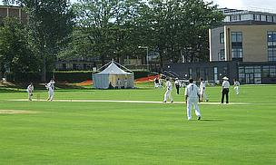Action from club cricket in the UK