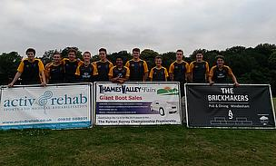 The Under-19 side, the Valley End Blues, pictured after beating Normandy