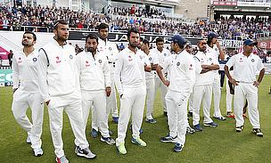 India's players at The Kia Oval