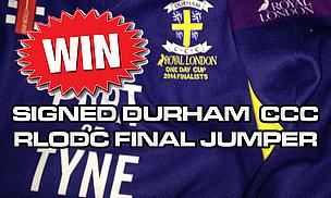 Play 'Guess The Drink' To Win A Signed Durham CCC Jumper