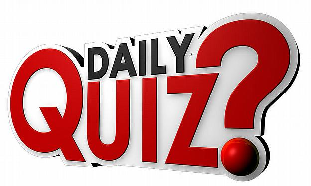 weekly quiz Did you pay attention to the news this week have a go at our 10 quiz teasers as you munch your lunch.
