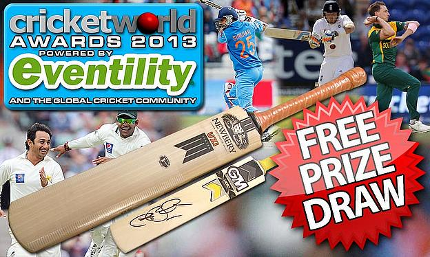 Vote Now In the 2013 Cricket World Awards And Win!