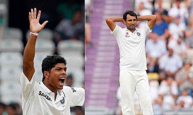Umesh Yadav  left  and Mohammad Shami - very similar bowlersUmesh Yadav Bowling Action