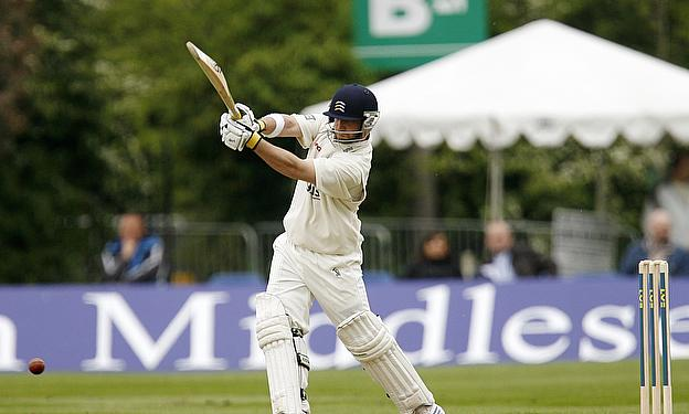 Phillip Hughes in action for Middlesex