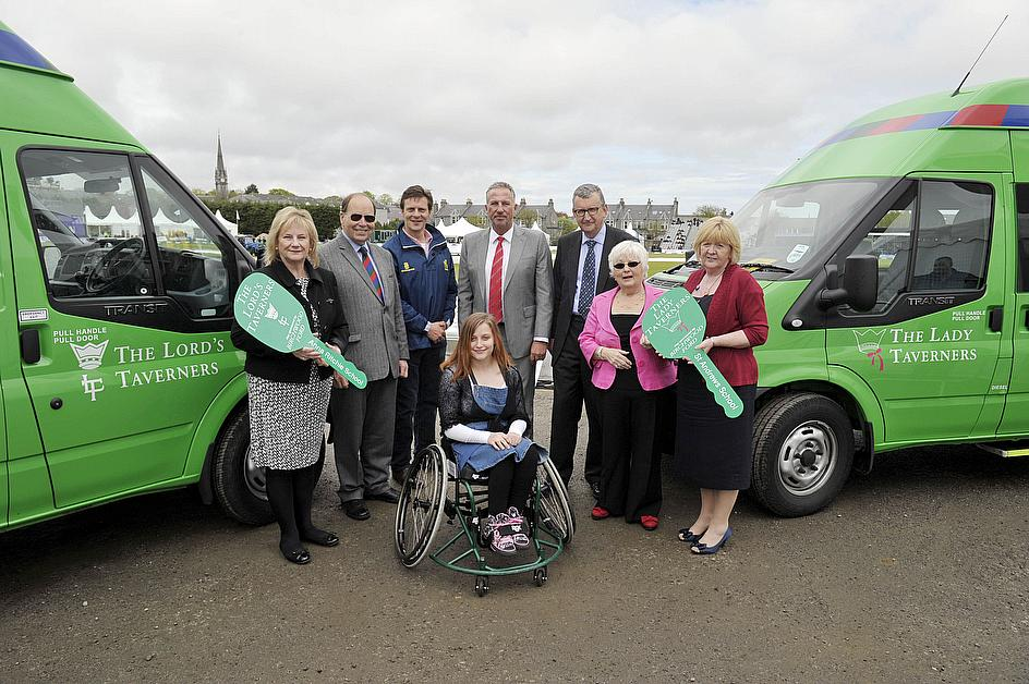 Lords Taverners To Name New Minibus Fleet After England Squad