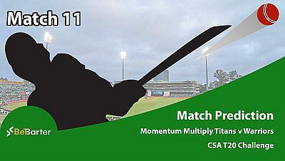 Cricket Betting Tips & Match Predictions: CSA T20 Challenge 2021- Momentum Multiply Titans vs Warriors- Match 11 - Cricket World