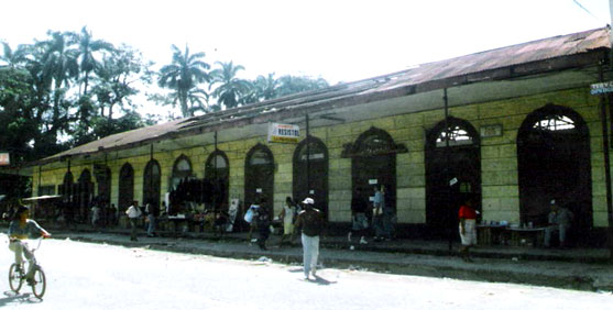 The building which once housed the old British Consulate in Limon