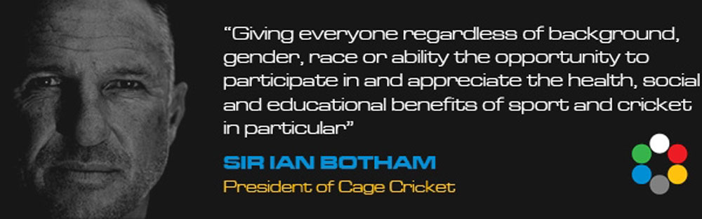Ian Botham - Cage Cricket