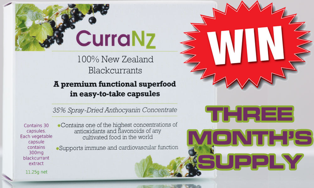Win Three Month's Supply Of CurraNZ