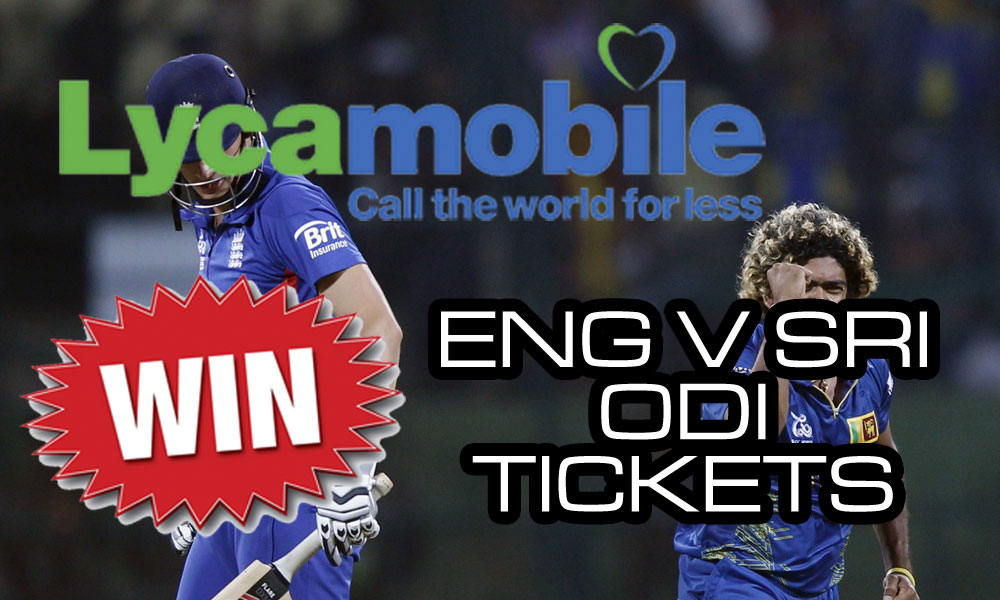 Win tickets to England-Sri Lanka with npower