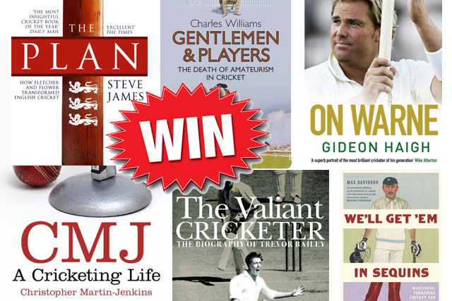 Win Some Of The Best Cricket Books Of The Year